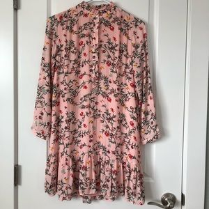 Loft Dress/Shirt SZ S